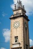 Monument in Bergamo Royalty Free Stock Photo