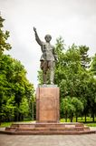 Monument of Betalu Kalmykov in Nalchik, Kabardino Royalty Free Stock Photo