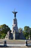 Monument Black Angel Royalty Free Stock Image