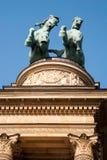 Monument in Boedapest, Hongarije Stock Fotografie