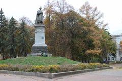 Monument of Bogdan Khmelnitskyi Stock Photo