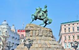 Monument of Bogdan Khmelnytsky Royalty Free Stock Images