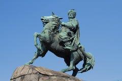 Monument of Bogdan Khmelnytsky in Kiev Royalty Free Stock Photography