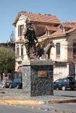 Monument bolivien de soldat dans La Paz Image stock
