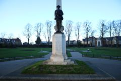 Ilford War Memorial Gardens royalty free stock photo