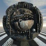 Monument bronze Stock Image