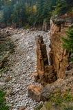 Monument-Bucht an einem grauen Tag im Acadia Lizenzfreie Stockfotografie