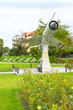 Monument of the Bulgarian aviation the centennial in Nessebar Stock Photography