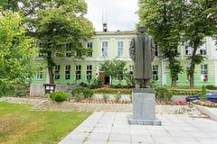 Monument of Bulgarian revolutionary Anton Ivanov in Koprivshtitsa Stock Photo