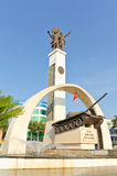 Monument Buon Me Thuot. Monument of the city center Buon Ma Thuot, Vietnam royalty free stock image