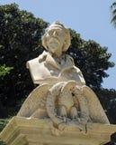 Monument to soldier and politician Giuseppe La Masa, Palermo stock image