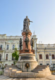 Monument célèbre aux fondateurs de ville, Odessa Ukraine Photo stock