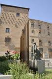 Monument à côté de la Chambre des coquilles Photographie stock
