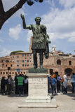Monument Caesar Troyan Lizenzfreie Stockfotos