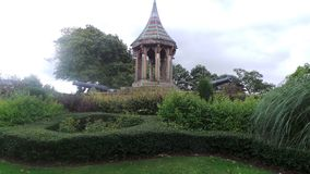 The Monument and cannons at Arboretum Nottingham Royalty Free Stock Photos