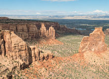 Monument Canyon, Colorado National Monument Royalty Free Stock Image