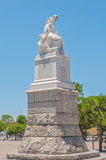 Monument for the Capetonians in the Anglo-Boer War Royalty Free Stock Images