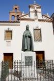 Monument Cardinal Cisneros Stock Image