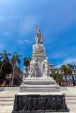 Monument of Carlos Manuel de Cespedes, Havana. Monument of Carlos Manuel de Cespedes in the center of city, Havana, Cuba royalty free stock photo