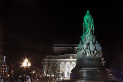 Monument of Catherine II, St. Petersburg Stock Images
