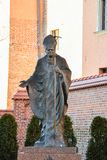 Monument krakow Stock Image