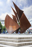 Monument in the center of Galway Royalty Free Stock Photography
