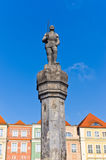 Monument in the center of Poznan, Poland Stock Image