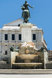 Monument in central Madrid Royalty Free Stock Photos