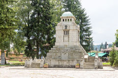 The monument on the central spare Koprivshtitsa in Bulgaria Stock Images