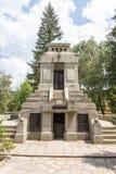 The monument on the central spare Koprivshtitsa, Bulgaria Royalty Free Stock Photos