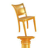 Monument of chair Royalty Free Stock Photography