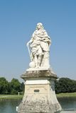 Monument in Chantilly. Castle near Paris Royalty Free Stock Photos