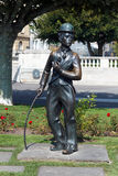 Monument of Charlie Chaplin,Vevey,Switzerland Stock Photography