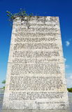 Monument of Che Guevara Royalty Free Stock Photos