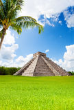 Monument of Chichen Itza in summer, Mexico Royalty Free Stock Photography
