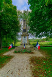 Monument for children in Noyers-sur-Serein. NOYERS-SUR-SEREIN, FRANCE - OCTOBER 11, 2016: Monument for children in Noyers-sur-Serein, Burgundy, France Stock Photo