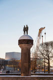 A monument at Christian Frederiks Plass in Oslo, Norway Stock Images