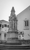 Monument at the church in Penang, Malaysia Stock Photo
