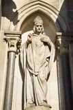 Monument of Church of St. Ludmila at namesti miru or Peace Square Stock Photos