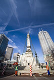 Monument Circle 1 Royalty Free Stock Photos