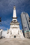 Monument Circle Stock Photos
