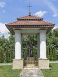 Monument. In the city, Galician in air-open museum in Nowy Sącz. Poland Stock Photography
