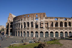 The monument of the Colosseum in Rome Stock Image