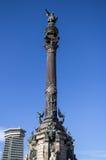 Monument of Columbus,  Barcelona., Spain Stock Photos