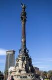Monument of Columbus,  Barcelona., Spain Stock Photo