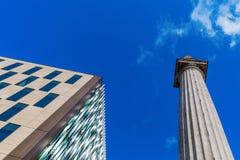 Monument column in London, UK Stock Photo