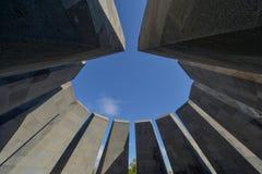 Monument commémoratif de génocide arménien, à Erevan photographie stock
