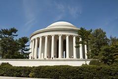 Monument commémoratif de Jefferson dans le Washington DC Images libres de droits