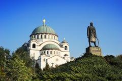 Monument commemorating Karageorge Petrovitch Royalty Free Stock Photos