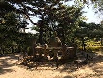 Monument coréen photo stock